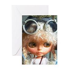 Blythe doll Greeting Card