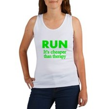 RUN..Its cheaper than therapy Tank Top
