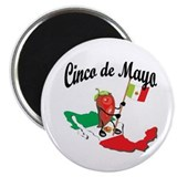 "Cinco de Mayo 2 2.25"" Magnet (10 pack)"