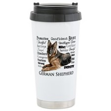 German Shepherd Traits Travel Mug