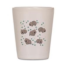 Wombat Shot Glass