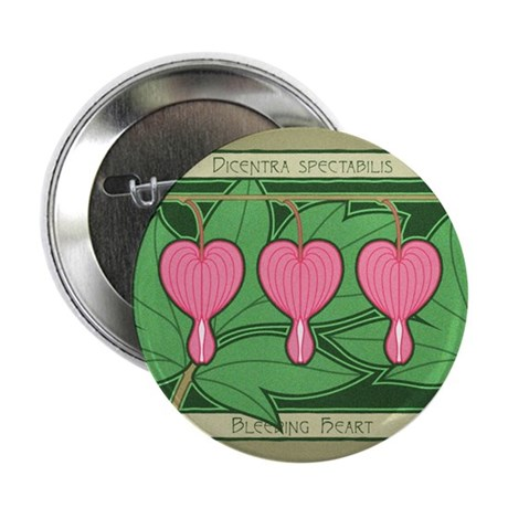 "Bleeding Heart 2.25"" Button (10 pack)"