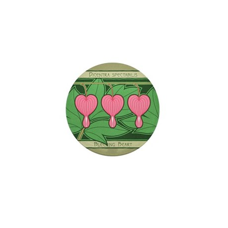 Bleeding Heart Mini Button (10 pack)