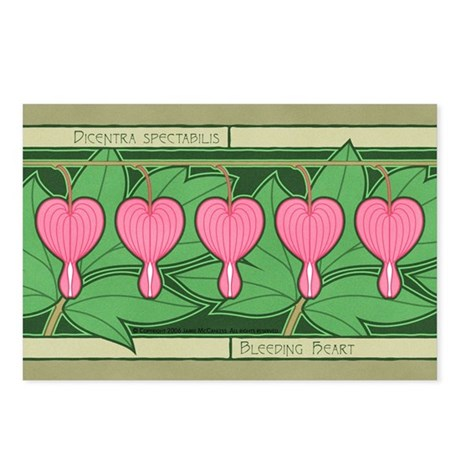 Bleeding Heart Postcards (Package of 8)