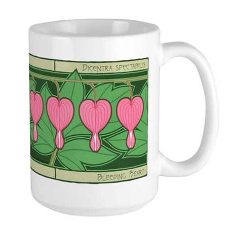 Bleeding Heart Large Mug