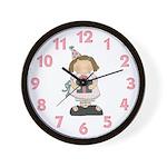 Birthday Girl Wall Clock