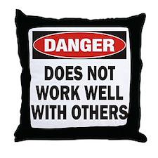 Work Well Throw Pillow