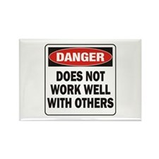 Work Well Rectangle Magnet (100 pack)