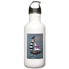 ZOMBIES CANT SWIM Water Bottle