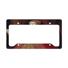 Young Princess Elizabeth License Plate Holder