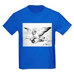 Pigeon Mates Kids Dark T-Shirt