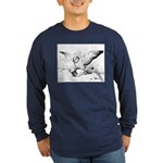 Pigeon Mates Long Sleeve Dark T-Shirt