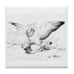 Pigeon Mates Tile Coaster