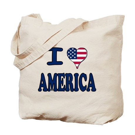 I heart America Tote Bag