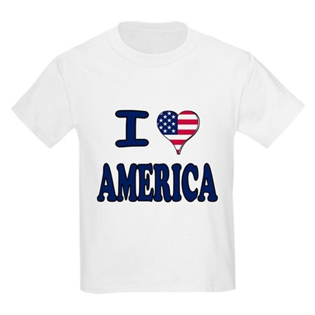 I heart America Kids Light T-Shirt
