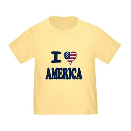 I heart America Toddler T-Shirt