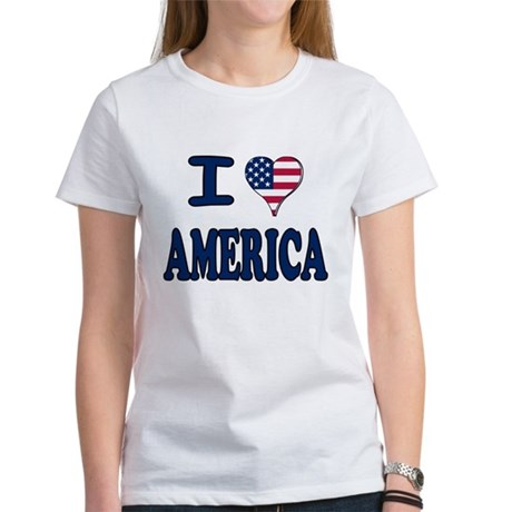I heart America Women's T-Shirt