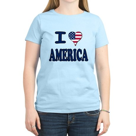 I heart America Women's Light T-Shirt