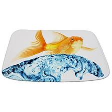 Surfing Goldfish Bathmat Bathmat