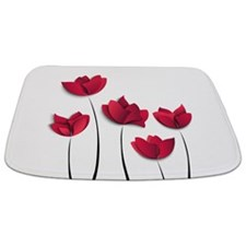 Paper Flowers Bathmat