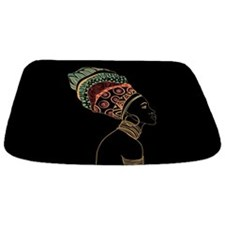 African Woman Bathmat