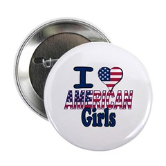 "I heart American Girls 2.25"" Button (100 pack)"