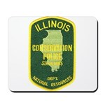 Illinois Game Warden Mousepad