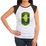 Illinois Game Warden Women's Cap Sleeve T-Shirt
