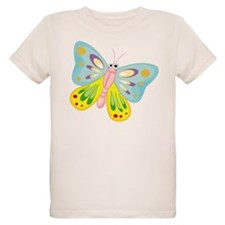 COLORFUL CARTOON BUTTERFLY T-Shirt