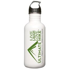 Live Laugh Love Hike Water Bottle