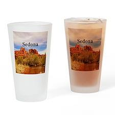 Sedona_6x6_v1_CathedralRock Drinking Glass