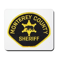 Monterey County Sheriff Mousepad