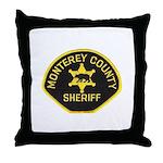 Monterey County Sheriff Throw Pillow