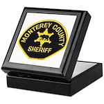 Monterey County Sheriff Keepsake Box