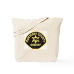 Monterey County Sheriff Tote Bag