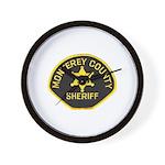 Monterey County Sheriff Wall Clock