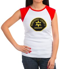 Monterey County Sheriff Women's Cap Sleeve T-Shirt