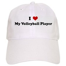 I Love My Volleyball Player Baseball Cap