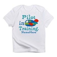 Personalized Pilot in Training Infant T-Shirt