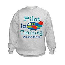 Personalized Pilot in Training Sweatshirt