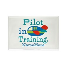 Personalized Pilot in Training Rectangle Magnet (1