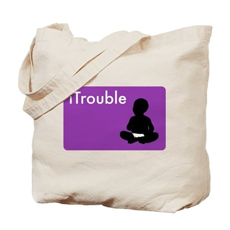 iTrouble Tote Bag