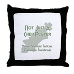 Not Just A Chessplayer Throw Pillow
