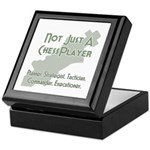 Not Just A Chessplayer Keepsake Box