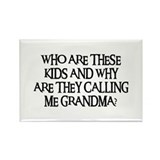 WHO ARE THESE KIDS Rectangle Magnet (100 pack)