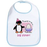 Big Sister to be (Penguin) Bib