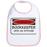 Attitude Bookkeeper Bib