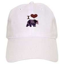I Love Bears Baseball Cap