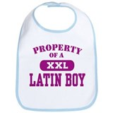 Property of a Latin Boy Bib
