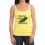 Peas are Patriotic Spaghetti Tank Top Shirt